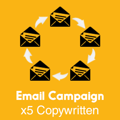 Email Campaign Copywritten x5