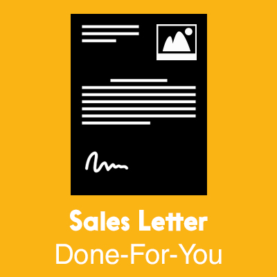 Sales Letter Done For You