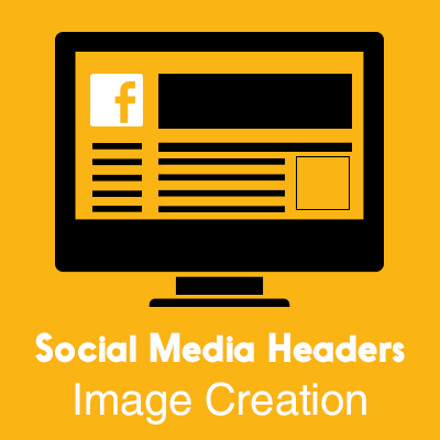 Social Media Headers Image Creation